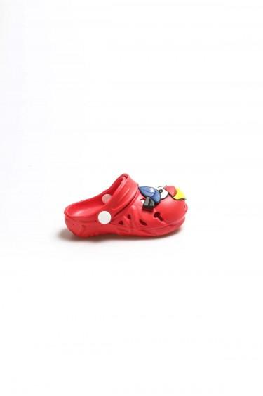 Kırmızı Unisex Çocuk Sabo Sandalet 001XAE109