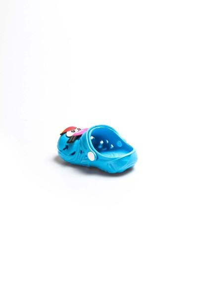 Mavi Turuncu Unisex Çocuk Sabo Sandalet 001XAE109