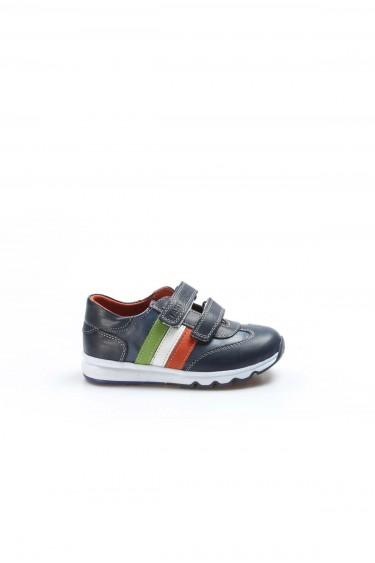 Hakiki Deri Lacivert Erkek Çocuk Casual Ayakkabı 006PA800