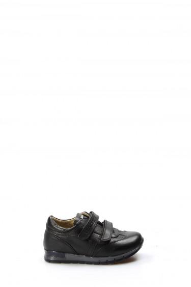 Hakiki Deri Siyah Erkek Çocuk Casual Ayakkabı 006PA900