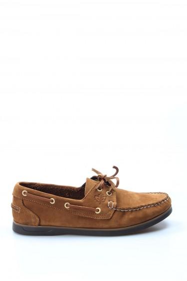 Hakiki Deri Tarçın Nubuk Erkek Serisonu Ayakkabı 111MA1940