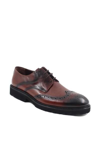 Hakiki Deri Taba Floter Erkek Klasik Ayakkabı 237MA625