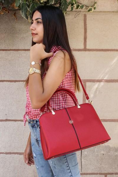 Kırmızı Kadın Serisonu Çanta 270CA6106