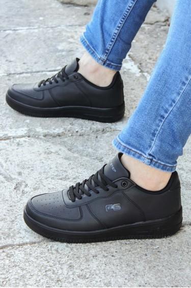 Siyah Erkek Sneaker Ayakkabı 572MA1787