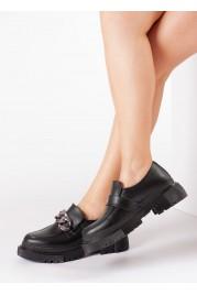Siyah Kadın Casual Ayakkabı 606ZAZINCIR