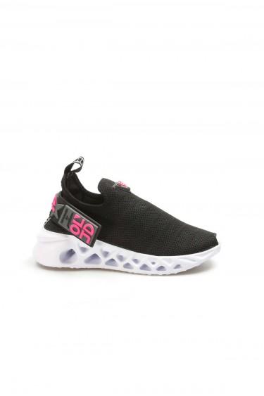 Siyah Tekstil Kadın Serisonu Ayakkabı 629ZA266-415