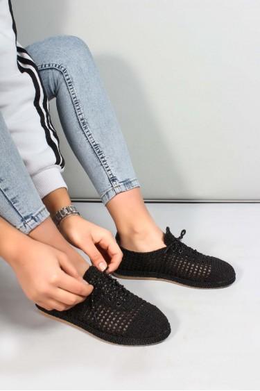 Siyah Kadın Casual Ayakkabı 698ZA303005
