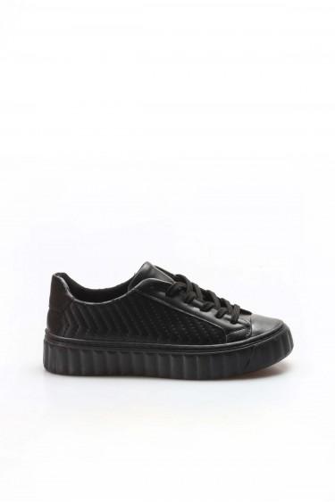 Siyah Kadın Sneaker Ayakkabı 698ZA561079