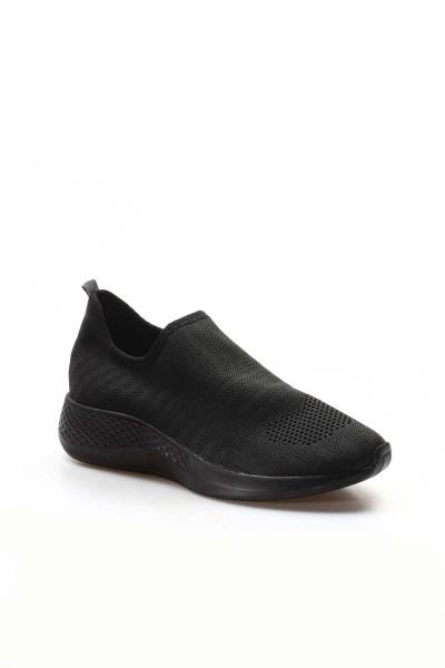01 Siyah Triko Kadın Serisonu Ayakkabı 698ZA570031