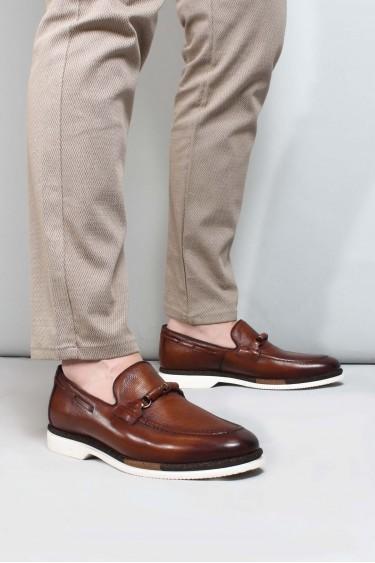 Hakiki Deri Taba Erkek Klasik Ayakkabı 717MA13056