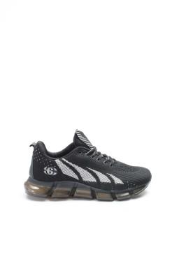 S-4 Siyah Erkek Sneaker Ayakkabı 717MA13208