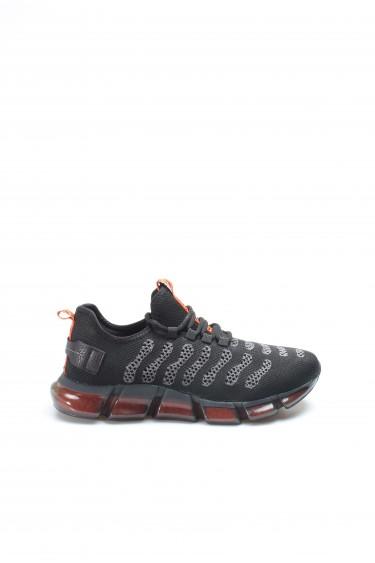 Siyah Gri Erkek Sneaker Ayakkabı 717MA13240