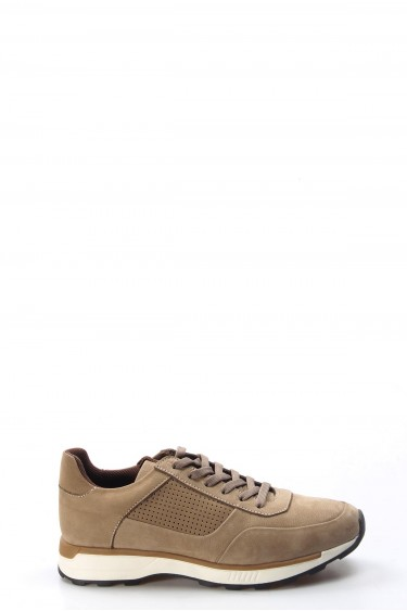 Hakiki Deri Kum Nubuk Erkek Günlük Spor Ayakkabı 723MA120