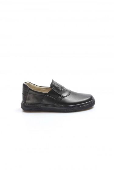 Hakiki Deri Siyah Erkek Çocuk Casual Ayakkabı 770FA916