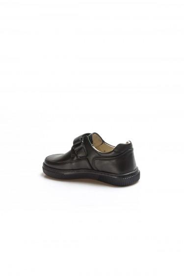 Hakiki Deri Siyah Erkek Çocuk Okul Ayakkabı 770PA917