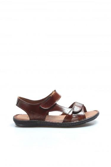 Hakiki Deri Taba Erkek Klasik Sandalet 819MA088