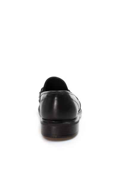 Hakiki Deri Siyah Erkek Serisonu Ayakkabı 819MA113