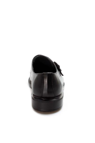 Hakiki Deri Siyah Erkek Casual Ayakkabı 819MA126-2
