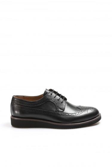 Hakiki Deri Siyah Erkek Klasik Ayakkabı 851MA5320