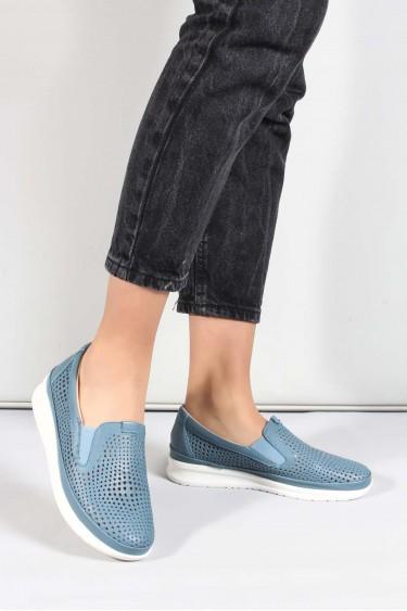Hakiki Deri Kot Kadın Casual Ayakkabı 864ZA1201-1
