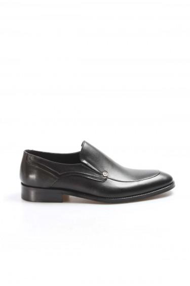 Hakiki Deri Siyah Erkek Klasik Ayakkabı 867MA98