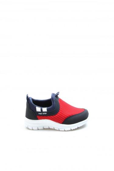 Kırmızı Lacivert Unisex Çocuk Sneaker Ayakkabı 868BA1006