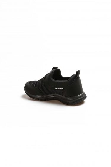 Siyah Unisex Çocuk Sneaker Ayakkabı 868FA1006