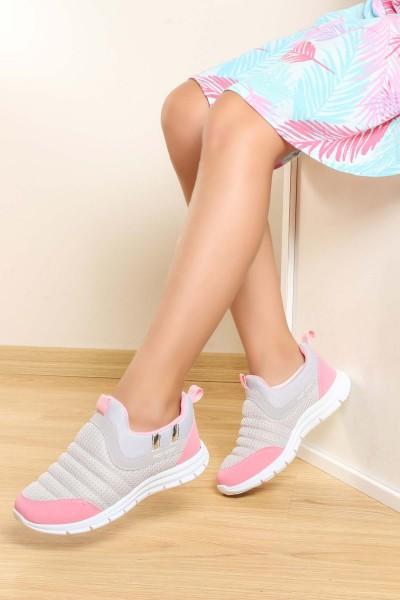 Buz Pembe Unisex Çocuk Sneaker Ayakkabı 868FA1006