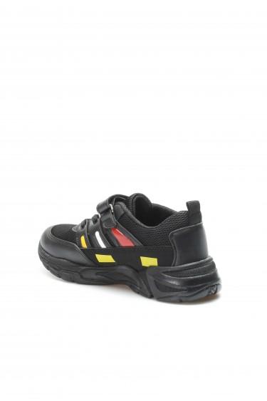 Siyah Sarı Unisex Çocuk Sneaker Ayakkabı 868XCA010