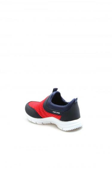 Kırmızı Lacivert Unisex Çocuk Sneaker Ayakkabı 868PA1006