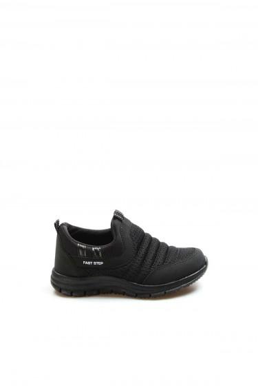 Siyah Unisex Çocuk Sneaker Ayakkabı 868PA1006