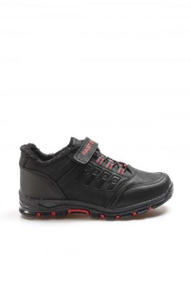 Siyah Kırmızı Unisex Çocuk Outdoor Ayakkabı 869XA542B