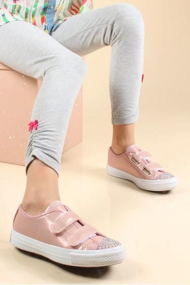 Pembe Kız Çocuk Casual Ayakkabı 887FA104