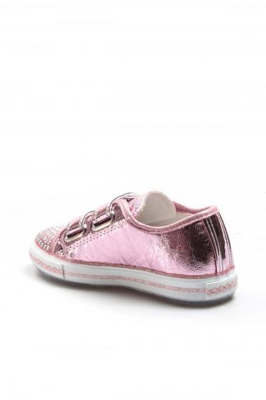 Pembe Kirik Kız Çocuk Serisonu Ayakkabı 887XCA1004