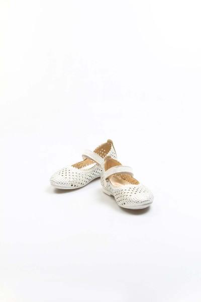 Sedef Simli Bebek Babet Ayakkabı 891BA509