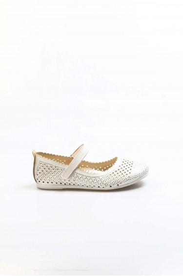 Sedef Simli Kız Çocuk Babet Ayakkabı 891FA509