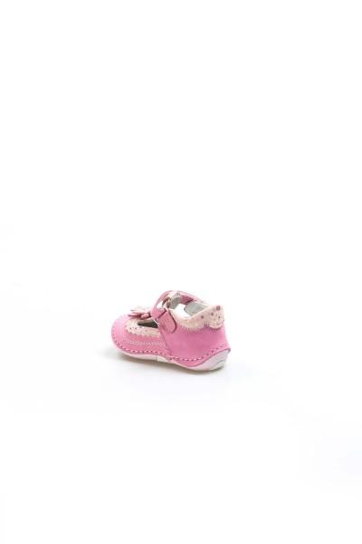 Hakiki Deri Fuşya Bebek Casual Ayakkabı 891IA511