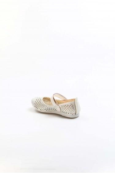 Sedef Simli Kız Çocuk Babet Ayakkabı 891PA509