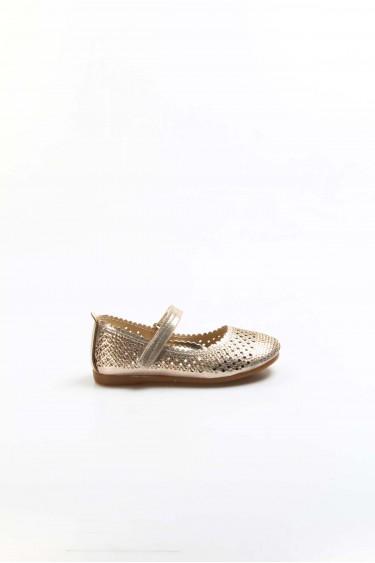Dore Simli Kız Çocuk Babet Ayakkabı 891PA509