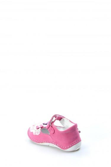 Hakiki Deri Fuşya Bebek Casual Ayakkabı 891BA505