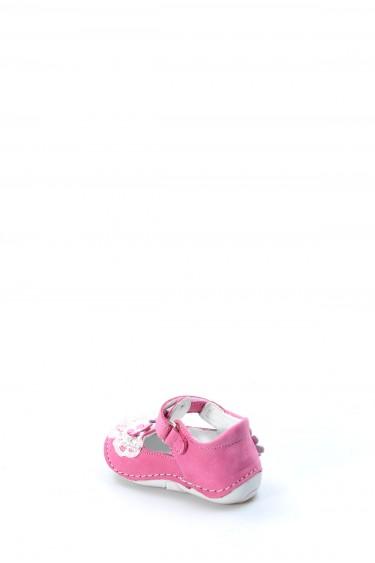 Hakiki Deri Fuşya Bebek Casual Ayakkabı 891IA505