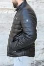 Hakiki Deri Siyah Erkek DERİMONT Deri Mont 900DMA3312