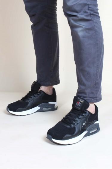 Siyah Beyaz Erkek Sneaker Ayakkabı 923MA087BST