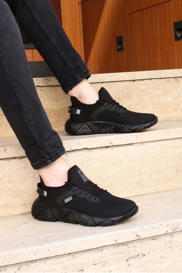 Siyah Erkek Sneaker Ayakkabı 925MA41