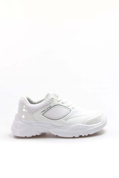 Beyaz Kadın Serisonu Ayakkabı 925ZA19