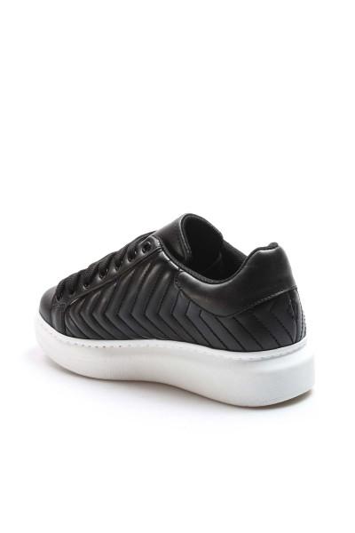 Siyah Kadın Sneaker Ayakkabı 928ZA106