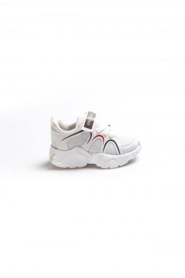 Beyaz Unisex Çocuk Sneaker Ayakkabı 931BA001