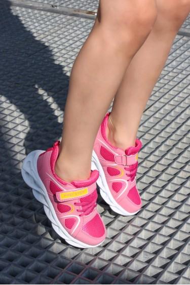Pembe Fuşya Unisex Çocuk Sneaker Ayakkabı 931FA001