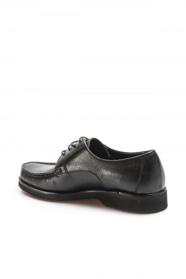 Hakiki Deri Siyah Erkek Klasik Ayakkabı 932MA65EVA