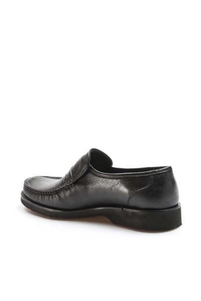 Hakiki Deri Siyah Erkek Klasik Ayakkabı 932MA725EVA